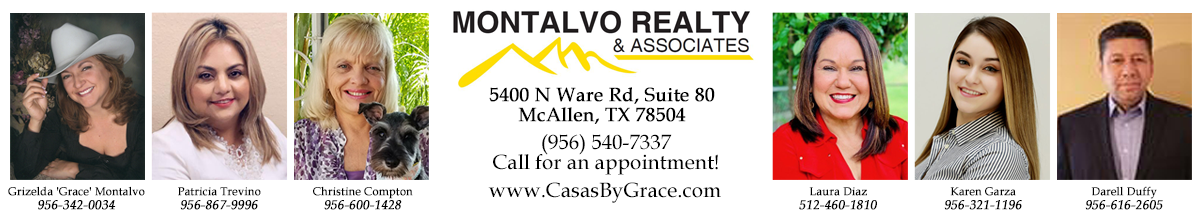 McAllen Homes for Sale. Real Estate in McAllen, Texas – Grizelda Montalvo